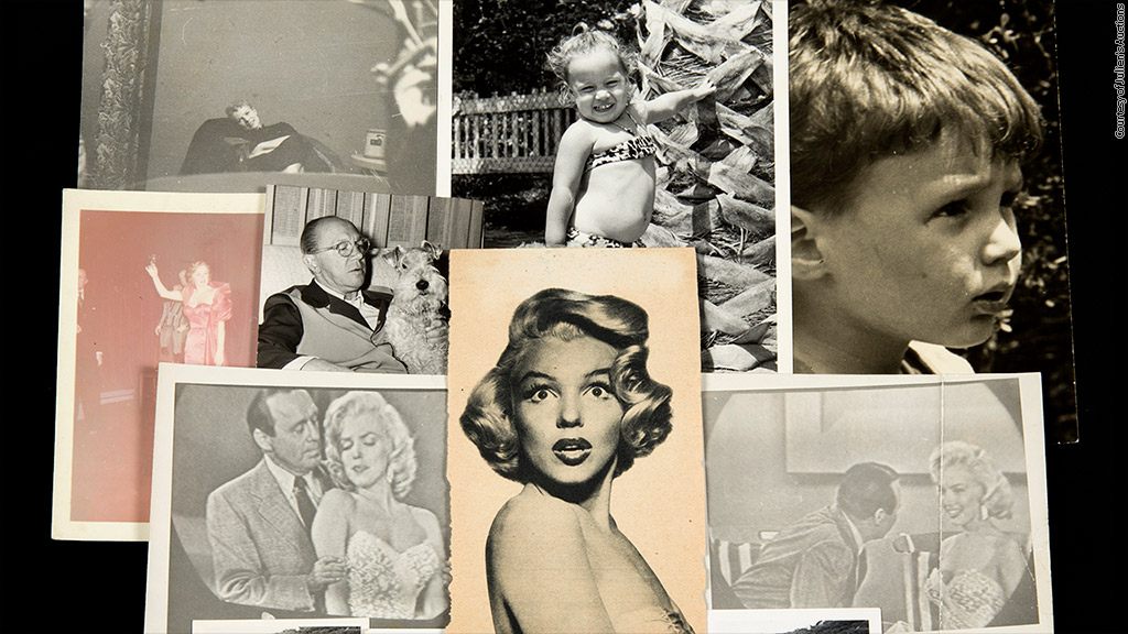 marilyn monroe dimagro auction scrapbook