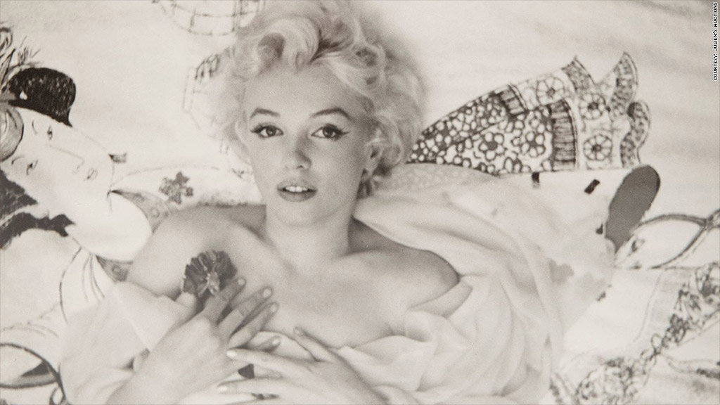 There's no business like Marilyn Monroe