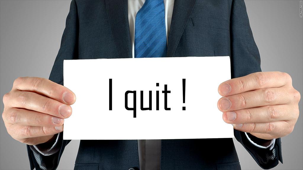 quit job end war