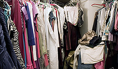 You're organizing your closet all wrong