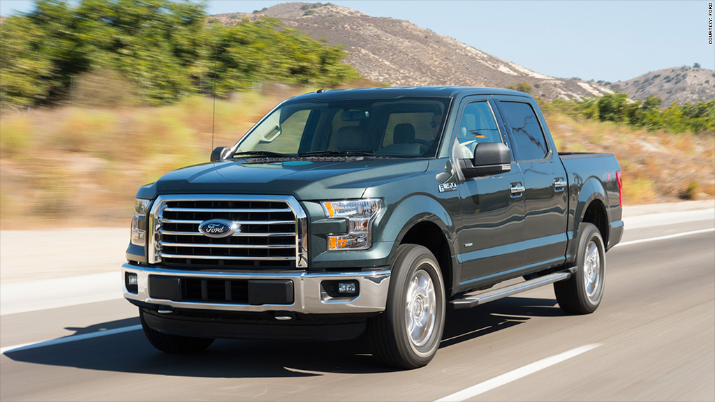 Overall - Ford F-150 - Kelley Blue Book names \