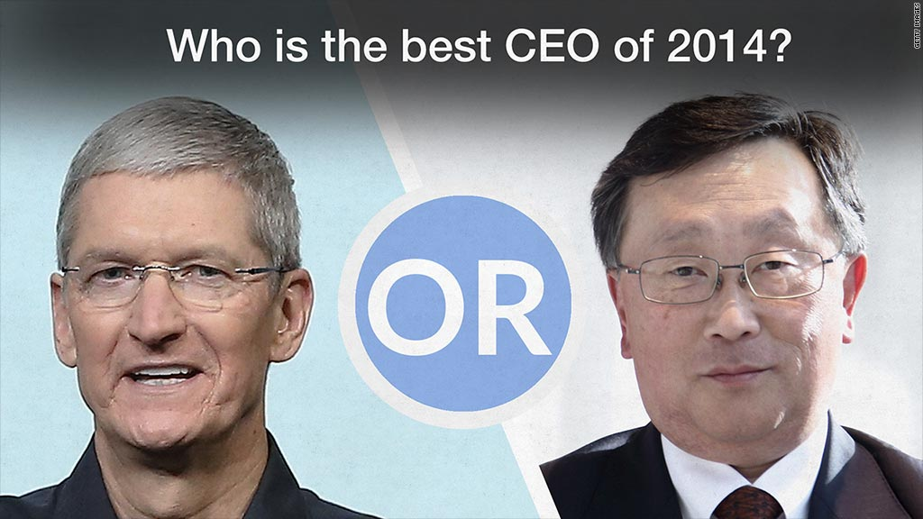 top ceo cook chen