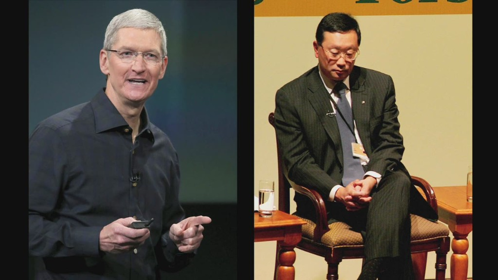 Better CEO: Tim Cook or John Chen?