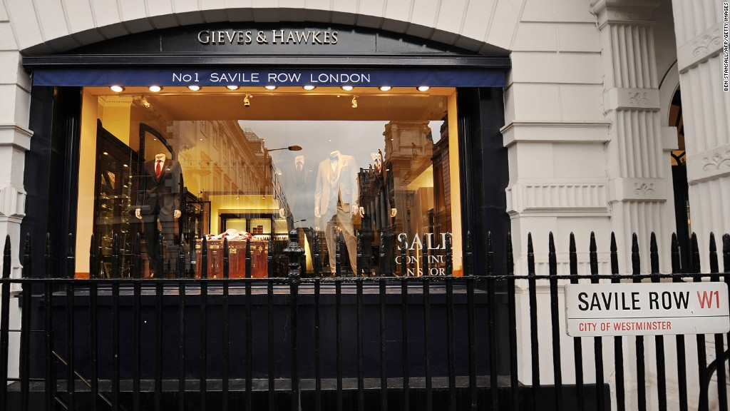 Savile Row - Who owns London's landmarks? - CNNMoney Jessica Alba Honest Company