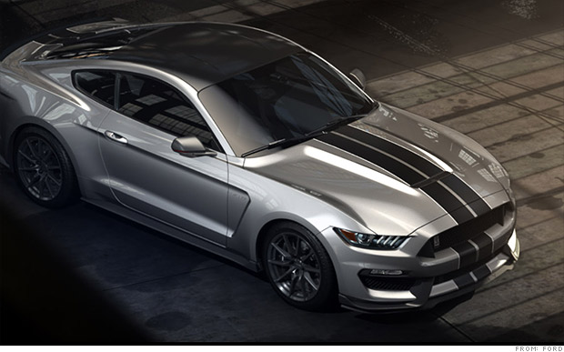 Ford's new Shelby Mustang GT350 unveiled