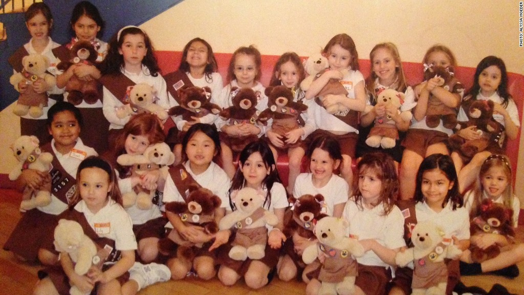 upper east side girl scouts young