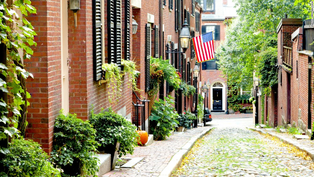 Boston mass 5 best cities to grow older in cnnmoney for Cost of living boston