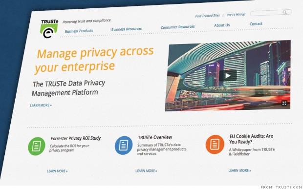 FTC fines TRUSTe over privacy seal
