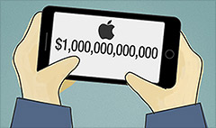 Will Apple soon be worth $1 trillion?