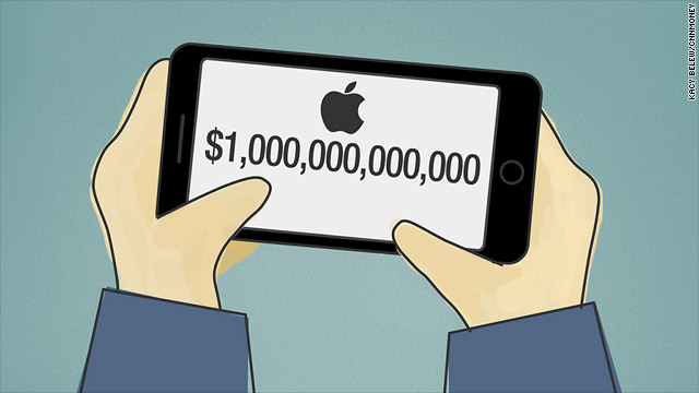 ¿Apple pronto tendrá un valor de 1 billón de dólares?