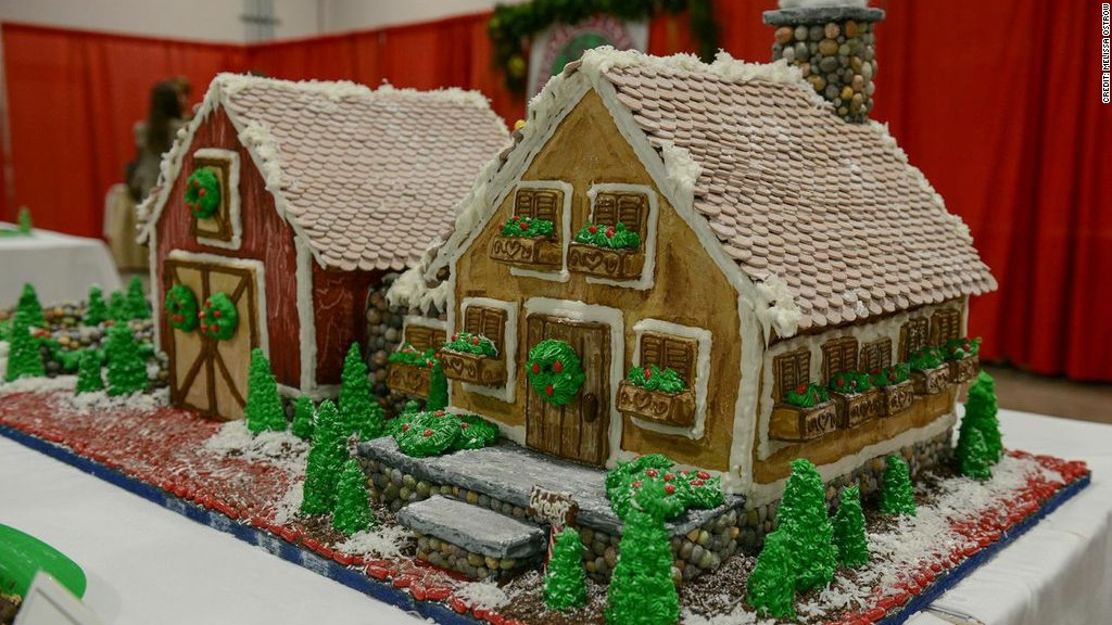 gingerbread house boston