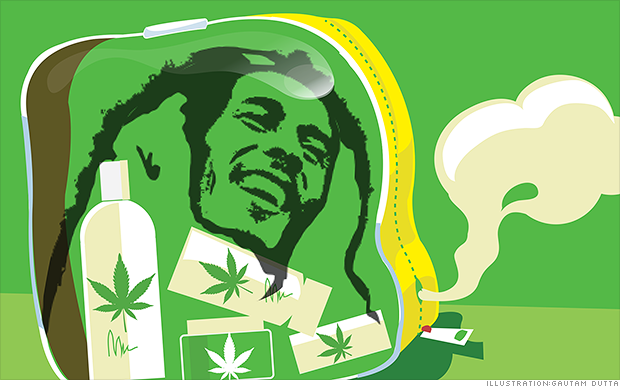 Bob Marley to sell marijuana from the grave