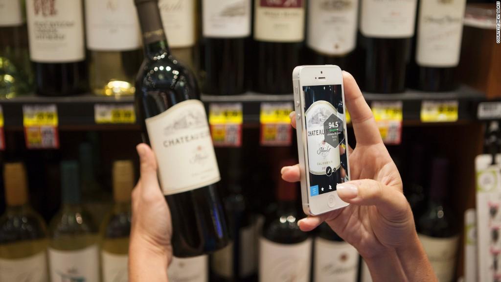 next glass wine app