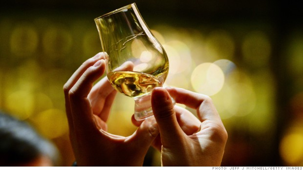 Exhausted of shares? Spend in whiskey!