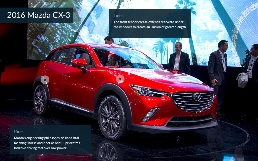 Maxda CX Cool Cars From The LA Auto Show CNNMoney - Mazda la