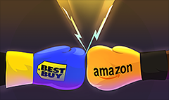 Best Buy tells Amazon: Take that!