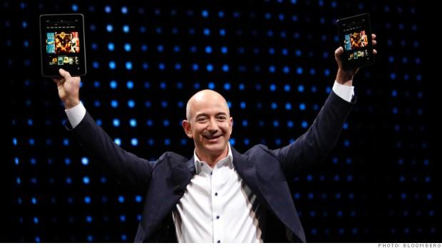 Jeff Bezos links Amazon, Washington Post