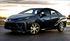 Toyota's futuristic, freaky fuel-cell car