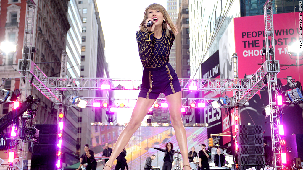 taylor swift performance