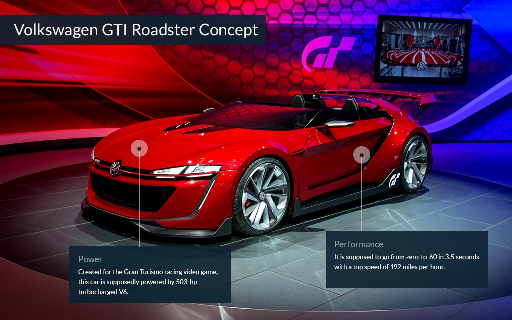 Volkswagen GTI Roadster Concept Cool Cars From The LA Auto Show - Cool cars 2014
