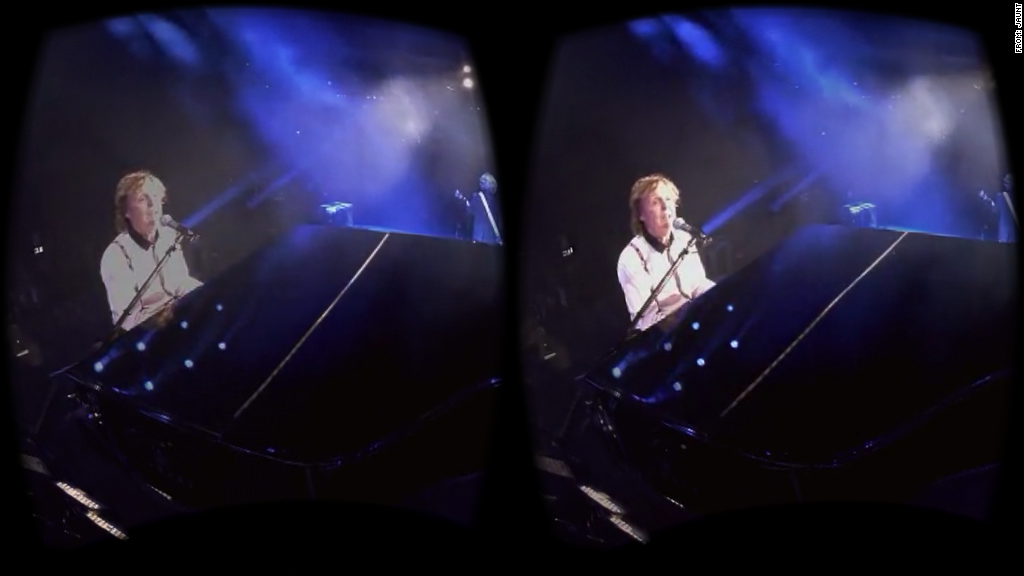 paul mccartney virtual reality jaunt