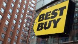 Best Buy soars. Take that, Amazon!