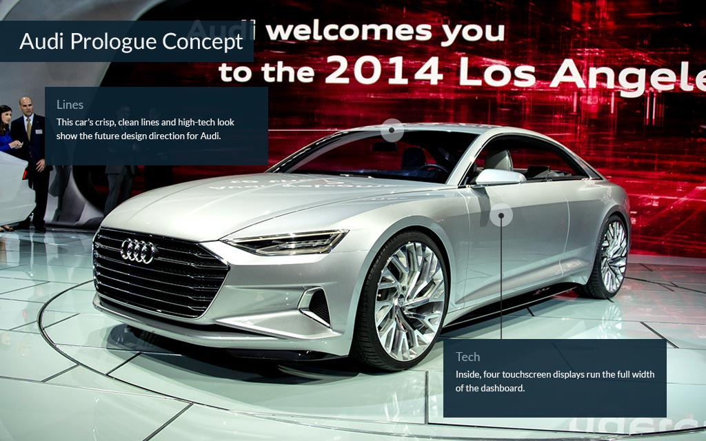 Audi Prologue Concept Cool Cars From The LA Auto Show CNNMoney - Cool cars 2014