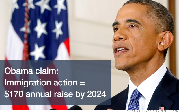 Can Obama's immigration plan really lift wages?