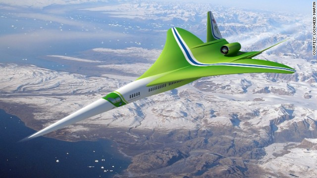 Avión supersónico promete viajar de Nueva York a Los Ángeles en 2,5 horas