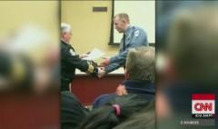 TV anchors met with Ferguson cop