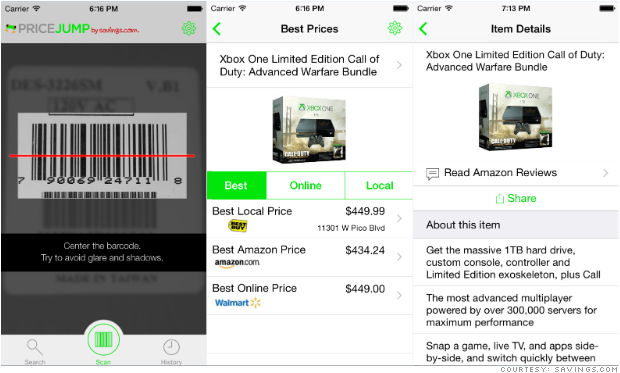 Use this app to get the lowest prices on your holiday shopping