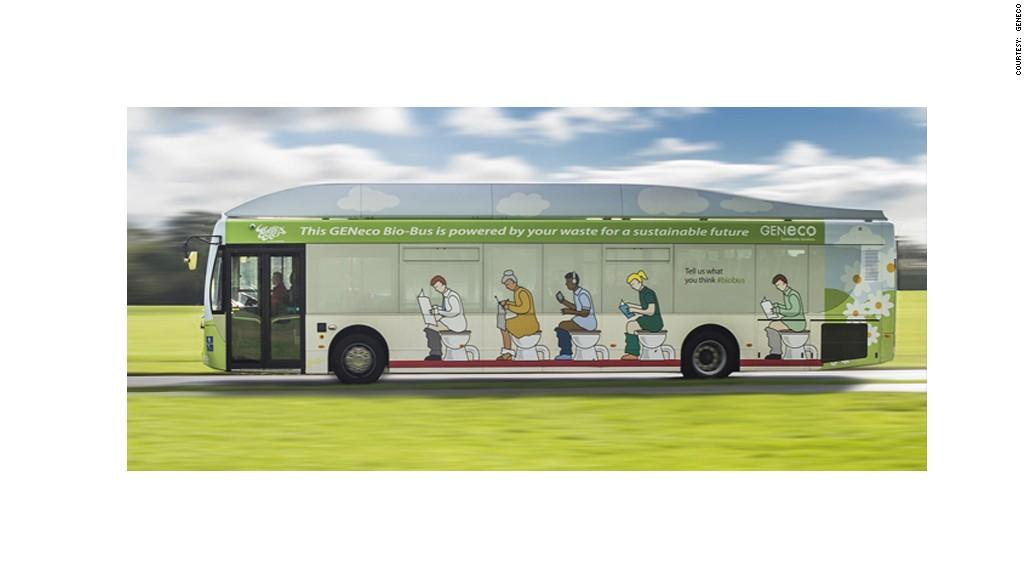 This Bus Runs On Human Poop