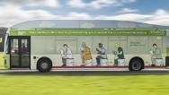 Un autobús impulsado por excrementos humanos