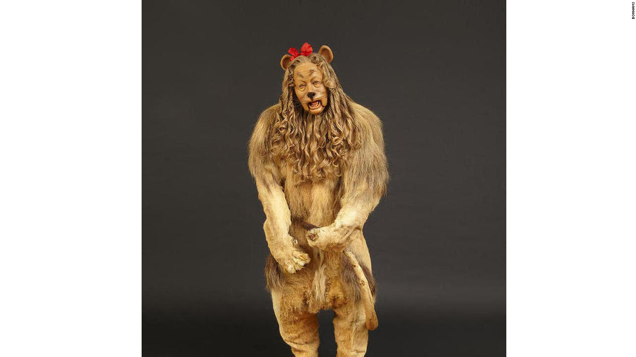 Real cowardly lion costume - photo#20