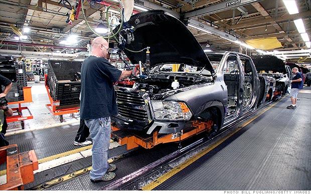 U.S. economy picks up speed