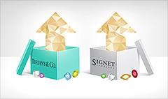 Stock market gems: Tiffany and Signet surge
