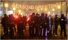 Media in spotlight during Ferguson announcement
