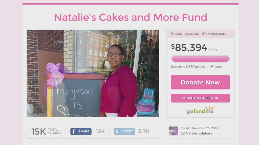 Ferguson bakery crowdfunds $90K after damage