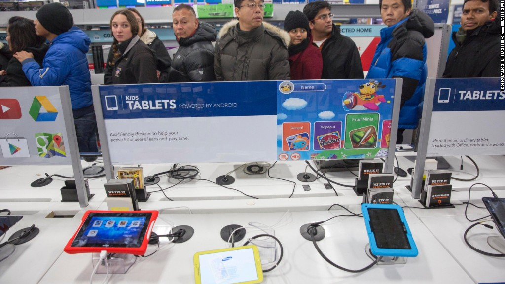 black friday search tablets