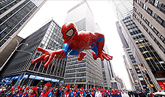 High ratings for Macy's Thanksgiving Parade