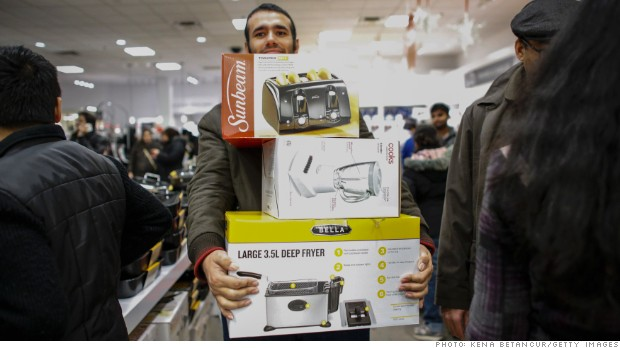 Shoppers rejoice! Black Friday is here