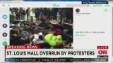 Protesters force closing of St. Louis mall