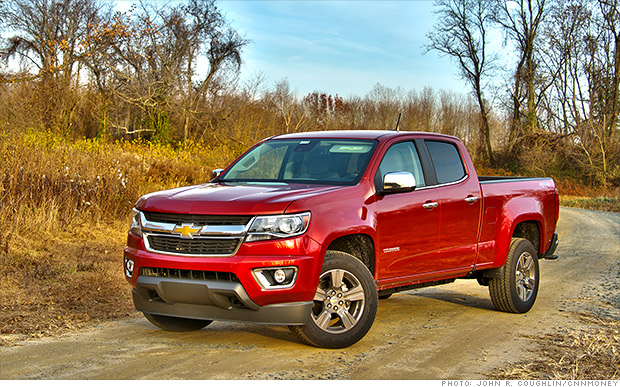 chevy colorado beats f 150 for truck of the year dec 3 2014. Black Bedroom Furniture Sets. Home Design Ideas