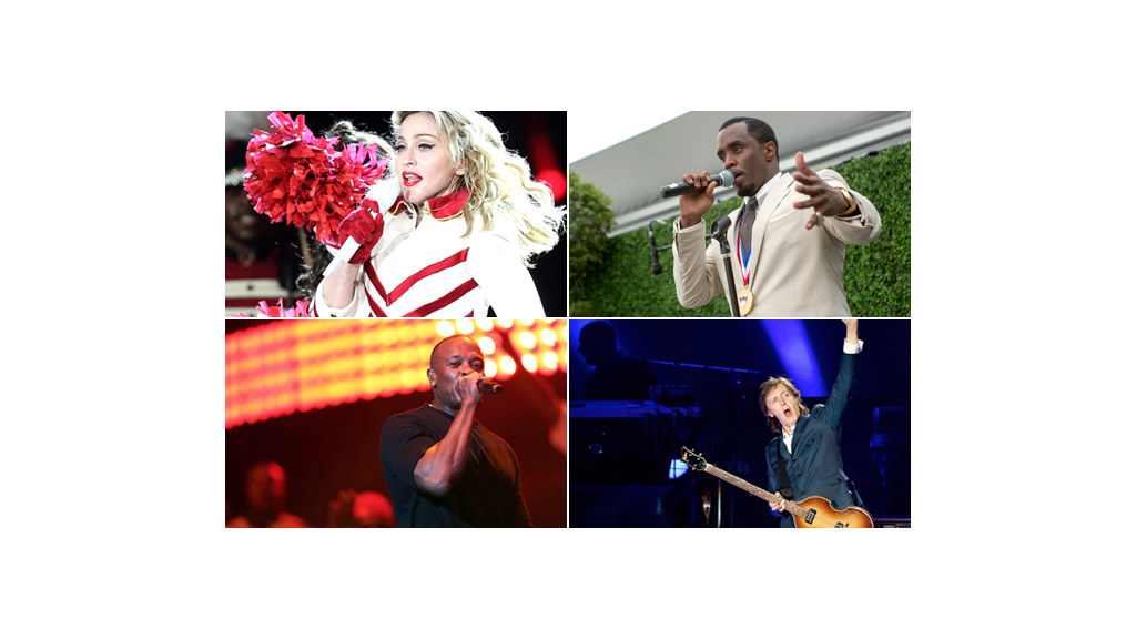Who is the richest recording artist?