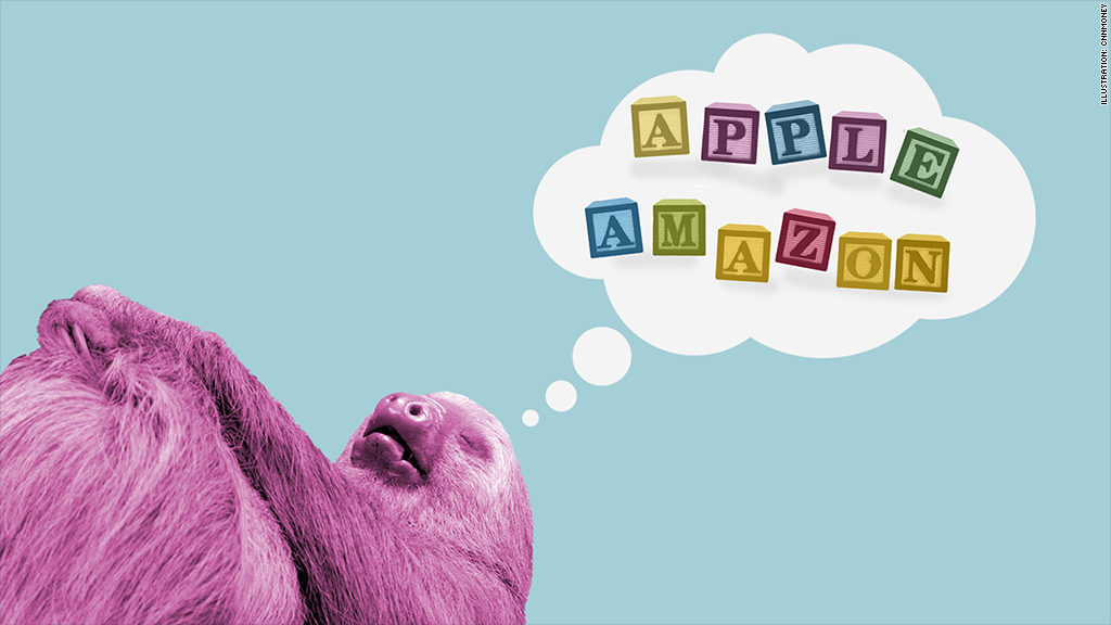 lazy alphabet sloth