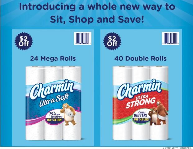 Images: Charmin Basic Toilet Paper