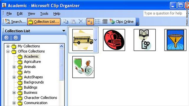 Microsoft elimina Clip Art de Office