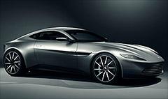 James Bond's new Aston Martin unveiled