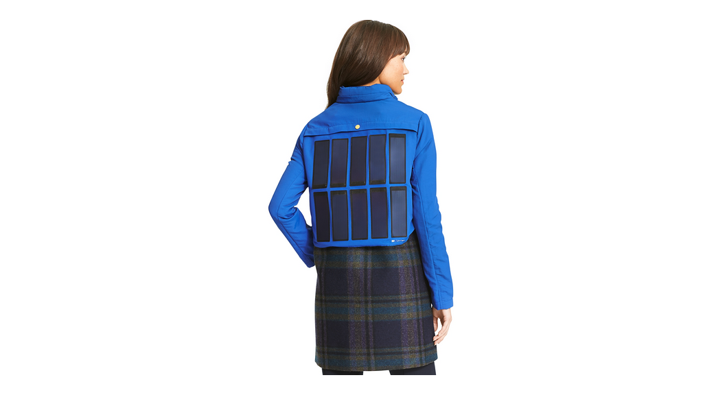 Tommy Hilfiger unveils a phone-charging jacket
