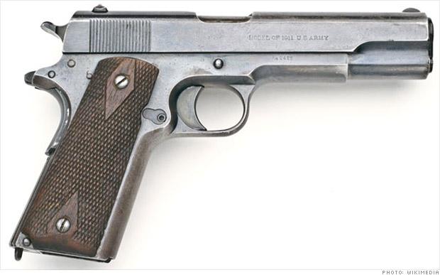 Colt M1911 History Of U S Army Guns Cnnmoney